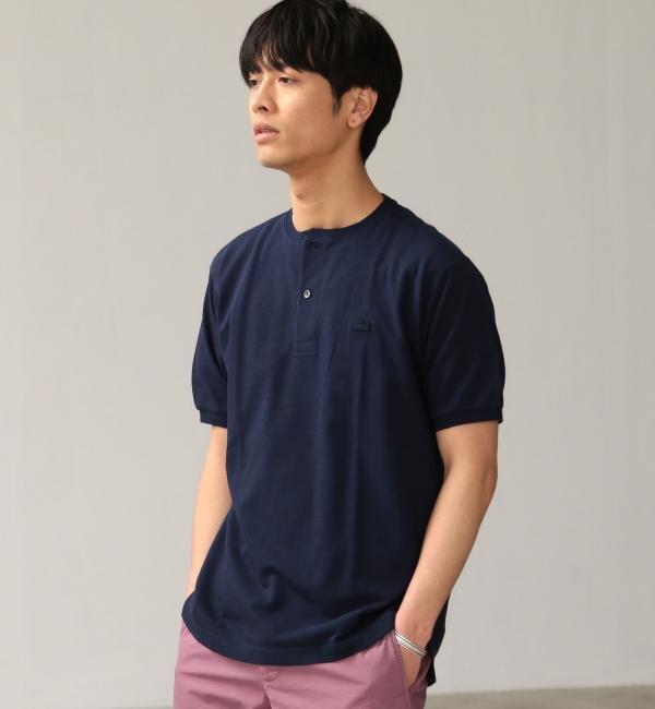 【グリーンレーベルリラクシング/green label relaxing】 [ラコステ] SC LACOSTE カノコ HENRRY Tシャツ