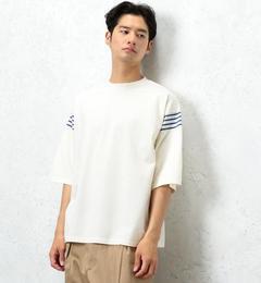 【グリーンレーベルリラクシング/green label relaxing】 [ジェニュインガーメント] BC G/G ボーダー/COMBI ビッグTシャツ [送料無料]