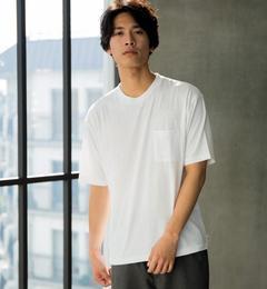 【グリーンレーベルリラクシング/green label relaxing】 SC TCR ポケット クルーネック SS Tシャツ [3000円(税込)以上で送料無料]