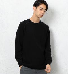 【グリーンレーベルリラクシング/green label relaxing】 SC ミニブークレ クルーネック ニット [送料無料]