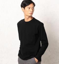 【グリーンレーベルリラクシング/green label relaxing】 SC GLR 9オンス SLD クルーネック ポケット Tシャツ [送料無料]