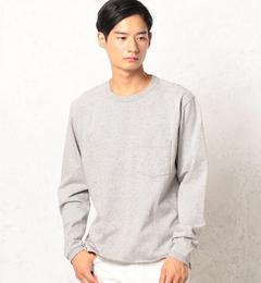 【グリーンレーベルリラクシング/green label relaxing】 SC GLR 9オンス SLD クルーネック ポケット Tシャツ MT [3000円(税込)以上で送料無料]