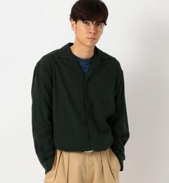 【グリーンレーベルリラクシング/green label relaxing】 ST ビエラ オープンカラー SOLID シャツ / 開襟シャツ [送料無料]