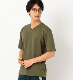 【グリーンレーベルリラクシング/green label relaxing】 SC ヘビーウェイト Vネック Tシャツ [3000円(税込)以上で送料無料]
