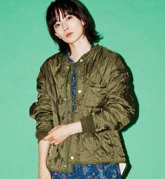 【グリーンレーベルリラクシング/green label relaxing】 CB ウラサーマル キルティング ジャケット [送料無料]