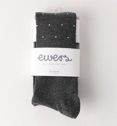 【グリーンレーベルリラクシング/green label relaxing】 Ewers(エワーズ) ラインストーンタイツ グレー [3000円(税込)以上で送料無料]
