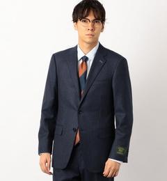 KI バンカーストライプ RV NT HP ジャケット【グリーンレーベルリラクシング/green label relaxing メンズ スーツ NAVY ルミネ LUMINE】