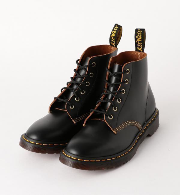 【グリーンレーベルリラクシング/green label relaxing】 [ドクターマーチン] SC★Dr.Martens 101 ARC 6H ブーツ / 6アイレット