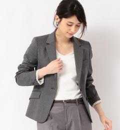【グリーンレーベルリラクシング/green label relaxing】 [手洗い可能/TW] ◆D 総裏 テーラードジャケット [送料無料]