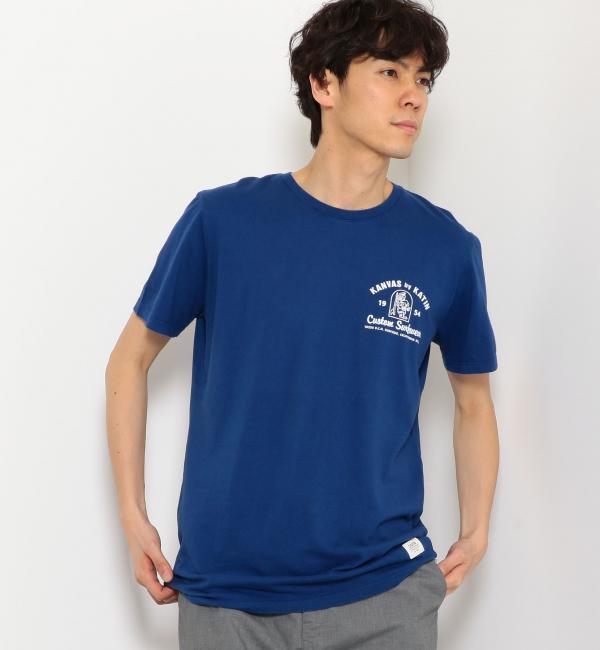 [ケイティン] SC KATIN SHOP ロゴ Tシャツ【グリーンレーベルリラクシング/green label relaxing メンズ Tシャツ・カットソー ROYAL ルミネ LUMINE】