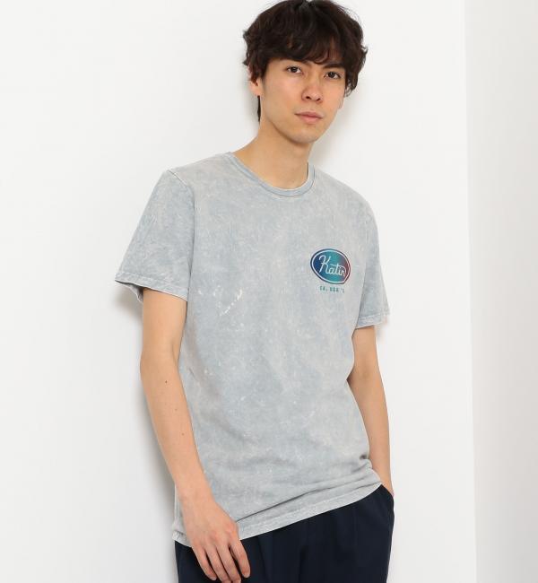 [ケイティン] SC KATIN UNION2MINARAL Tシャツ【グリーンレーベルリラクシング/green label relaxing メンズ Tシャツ・カットソー LT.GRAY ルミネ LUMINE】