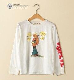 <アイルミネ>【ジュニア】POPEYE(R) ロングスリーブTシャツ画像