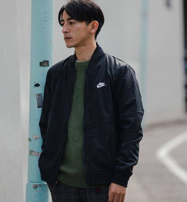 【グリーンレーベルリラクシング/green label relaxing】 [ナイキ] SC NIKE プレイヤーズ ウーブン ジャケット