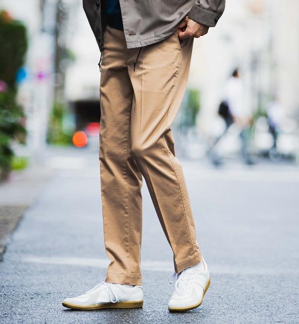メンズファッションオススメ|【グリーンレーベルリラクシング/green label relaxing】 NM ◆サテンスマートレッグ パンツ #