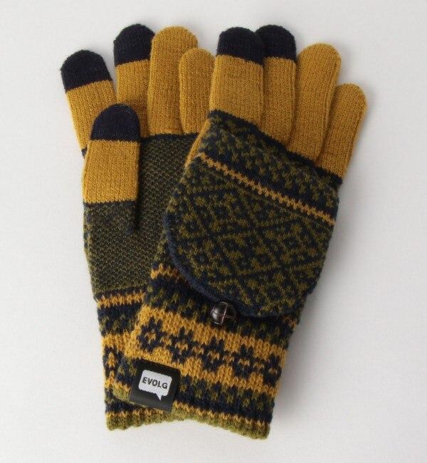 【グリーンレーベルリラクシング/green label relaxing】 [エヴォログ] SC EVOLG MIT グローブ・手袋<機能性 / タッチパネル対応>
