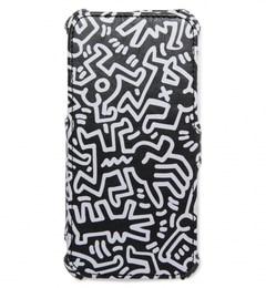 【ビューティアンドユース ユナイテッドアローズ/BEAUTY&YOUTH UNITED ARROWS】 BYMC GRAPHT Keith Haring iphone6 フリップケース [3000円(税込)以上で送料無料]