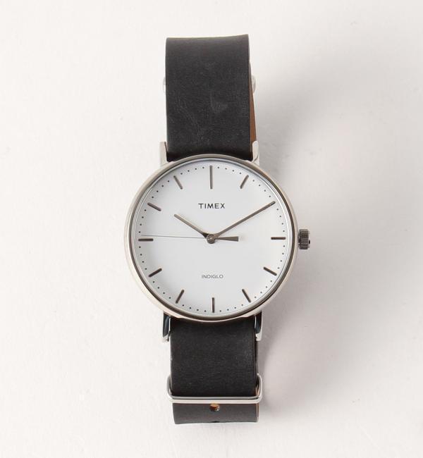 TIMEX(タイメックス)  WEEKENDER F/C LTR/腕時計【ビューティアンドユース ユナイテッドアローズ/BEAUTY&YOUTH UNITED ARROWS メンズ 腕時計 SILVER ルミネ LUMINE】