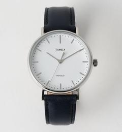 <TIMEX(タイメックス)> WEEKENDER F/C LTR2/腕時計【ビューティアンドユース ユナイテッドアローズ/BEAUTY&YOUTH UNITED ARROWS メンズ 腕時計 SILVER ルミネ LUMINE】