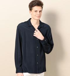 【ビューティアンドユースユナイテッドアローズ/BEAUTY&YOUTHUNITEDARROWS】BYレーヨンオープンカラーシャツ[送料無料]