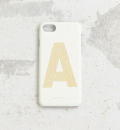 【ビューティアンドユース ユナイテッドアローズ/BEAUTY&YOUTH UNITED ARROWS】 【別注】∴アルファベットプリント iPhone7ケース [3000円(税込)以上で送料無料]