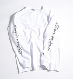 【ビューティアンドユース ユナイテッドアローズ/BEAUTY&YOUTH UNITED ARROWS】 【別注】  REVERSE WEAVE LONG SLEEVE TEE/Tシャツ [送料無料]