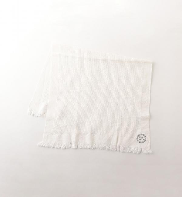 Khadi&Co COTTON TOWEL 40×65 OFF WHITE/タオル【ビューティアンドユース ユナイテッドアローズ/BEAUTY&YOUTH UNITED ARROWS レディス タオル OFF WHITE ルミネ LUMINE】