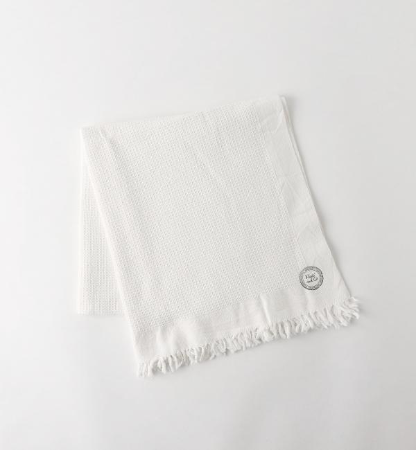 Khadi&Co COTTON TOWEL 65×150 OFF WHITE/タオル【ビューティアンドユース ユナイテッドアローズ/BEAUTY&YOUTH UNITED ARROWS レディス タオル OFF WHITE ルミネ LUMINE】