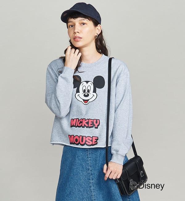 【ビューティアンドユース ユナイテッドアローズ/BEAUTY&YOUTH UNITED ARROWS】 BY / MICKEY プリントカットオフスウェット(Disney)