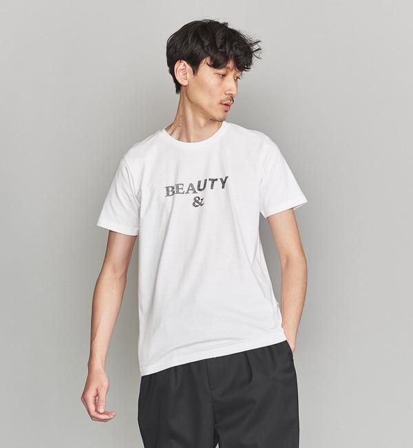 【ビューティアンドユース ユナイテッドアローズ/BEAUTY&YOUTH UNITED ARROWS】 BY Naomi Kazama SP ロゴ Tシャツ