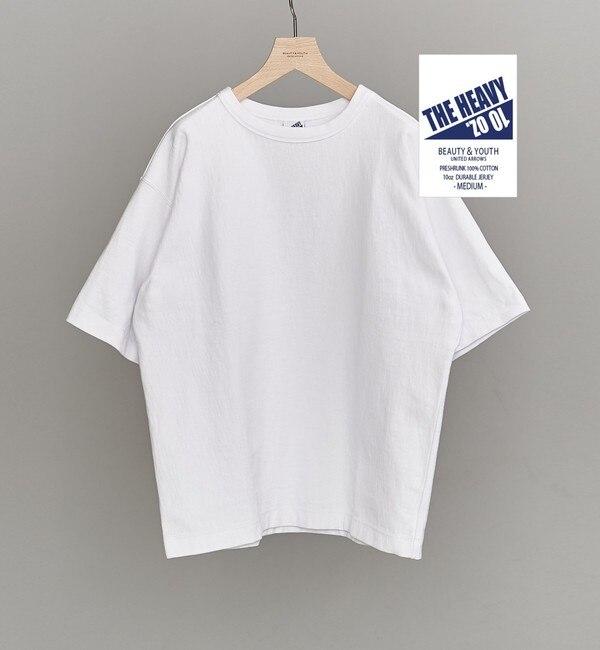 【ビューティアンドユース ユナイテッドアローズ/BEAUTY&YOUTH UNITED ARROWS】 BY 10oz ヘビー ワイド Tシャツ