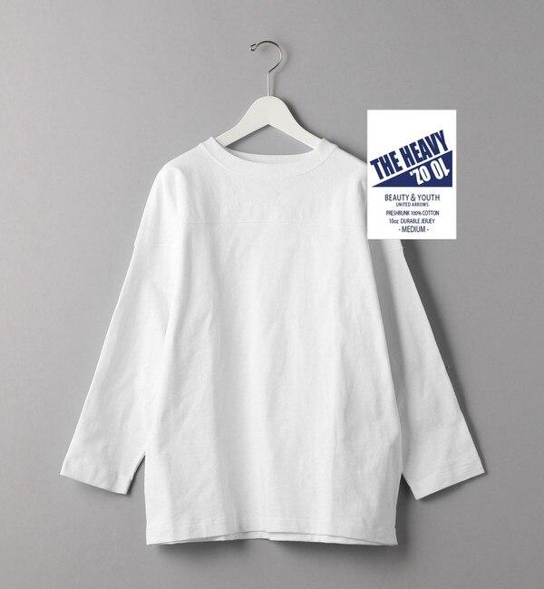 【ビューティアンドユース ユナイテッドアローズ/BEAUTY&YOUTH UNITED ARROWS】 BY 10oz ヘビー フットボール Tシャツ