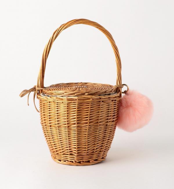 【ボワソンショコラ/Boisson Chocolat】 Ctrl Freak ポンポンバスケット [送料無料]