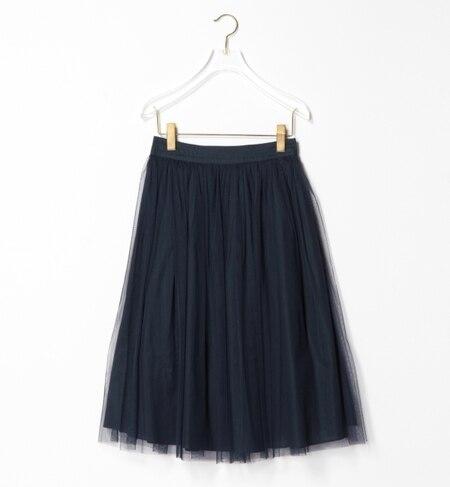 【ビームス ウィメン/BEAMS WOMEN】 チュール ギャザースカート [送料無料]