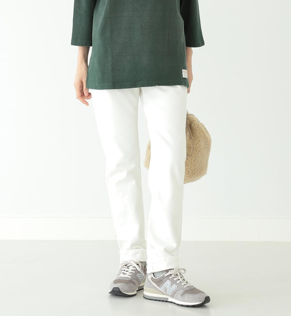 【ビームス ウィメン/BEAMS WOMEN】 orslow / IVYFIT DENIM WHITE