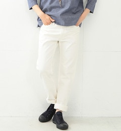 【ビームス ウィメン/BEAMS WOMEN】 orslow / IVYFIT DENIM WHITE [送料無料]