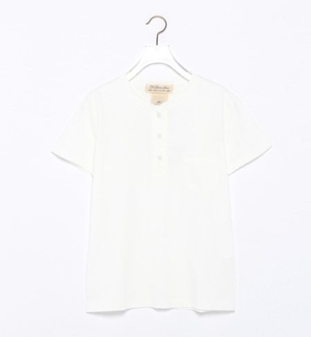 【ビームス ウィメン/BEAMS WOMEN】 REMI RELIEF×Ray BEAMS / 別注 ヘンリー ポケット Tシャツ [送料無料]