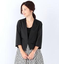 【ビームスウィメン/BEAMSWOMEN】ペプラムジャケット[送料無料]