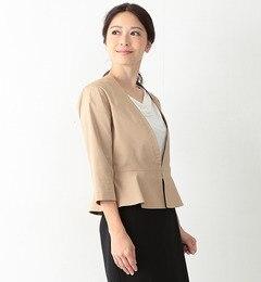 【ビームス ウィメン/BEAMS WOMEN】 ペプラムジャケット [送料無料]