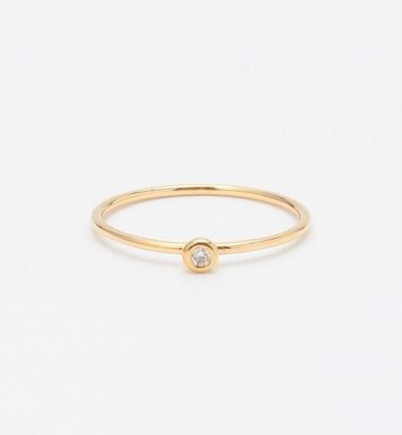 【ビームス ウィメン/BEAMS WOMEN】 K18 ダイヤリング [送料無料]