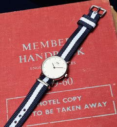 DANIEL WELLINGTON / Classy Glasgow シルバー 26mm【ビームス ウィメン/BEAMS WOMEN 腕時計】
