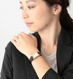 【ビームス ウィメン/BEAMS WOMEN】 【VERY3月号掲載】レクタンギュラー腕時計 [送料無料]
