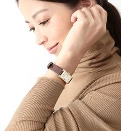 【ビームス ウィメン/BEAMS WOMEN】 【BAILA4月号掲載】レクタンギュラー腕時計 [送料無料]