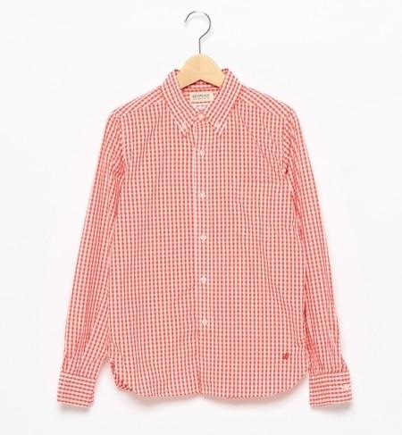 【ビームス ウィメン/BEAMS WOMEN】 ギンガム ボタンダウンシャツ [送料無料]