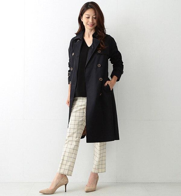 【ビームス ウィメン/BEAMS WOMEN】 ハイカウント ツイルトレンチコート [送料無料]