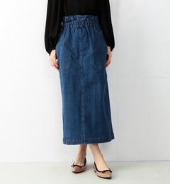 【ビームス ウィメン/BEAMS WOMEN】 デニムロング タイトスカート [送料無料]