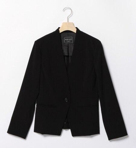 【ビームス ウィメン/BEAMS WOMEN】 ストレッチノーカラー ジャケット [送料無料]