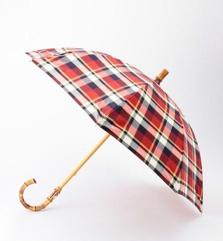 【ビームス ウィメン/BEAMS WOMEN】 Traditional Weatherwear / チェック晴雨兼用長傘 [送料無料]