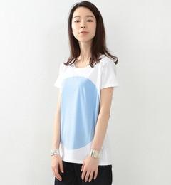 【ビームス ウィメン/BEAMS WOMEN】 ALOYE×Ray BEAMS / 別注 カラー ブロック Tシャツ [送料無料]