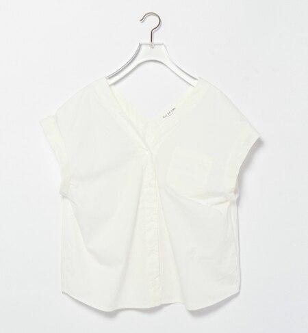 【ビームス ウィメン/BEAMS WOMEN】 Vネック コクーンシャツ [送料無料]