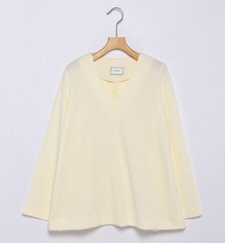 【ビームス ウィメン/BEAMS WOMEN】 THE IRON / オーバーサイズVネック長袖Tシャツ [送料無料]